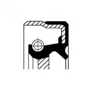 Сальник первинного вала КПП 31.8X62X8 DB Sprinter/ 01034075b corteco -