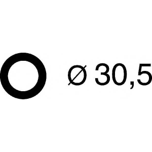Прокладка впускного колектора PSA DV6TED4 (x4) 29. 026237h corteco -