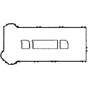 CORTECO 026580P Прокладка, крышка головки цилиндра