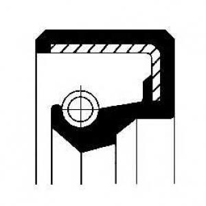 CORTECO 12000157B Уплотняющее кольцо, ступица колеса