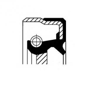 CORTECO 12011305B Сальник FRONT FIAT B1BAVISLRD 23X35X7 FPM (пр-во Corteco)