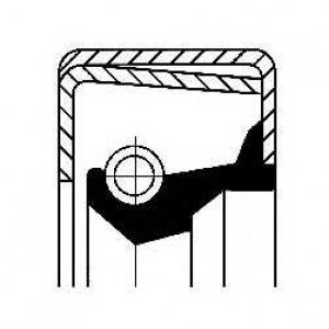 CORTECO 12011407B Уплотняющее кольцо, коленчатый вал