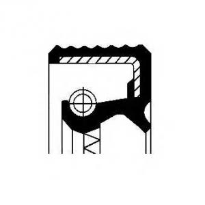 Уплотняющее кольцо, коленчатый вал; Уплотняющее ко 12011549b corteco - PEUGEOT 504 (A_, M_) седан 2.0 (A1, A13, MY1, MY3)