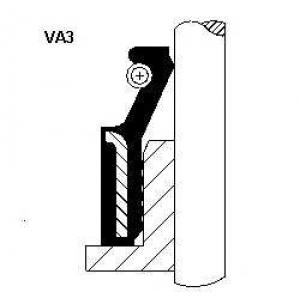 Уплотнительное кольцо, стержень кла 12012442 corteco - FORD ESCORT IV (GAF, AWF, ABFT) Наклонная задняя часть 1.6 D