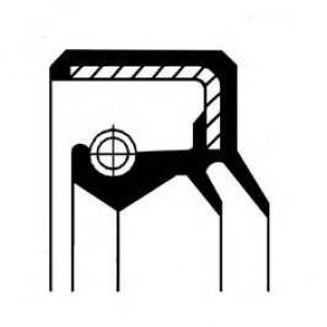 CORTECO 12013894B Сальник ступиці