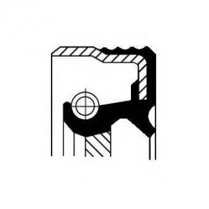 Уплотняющее кольцо, коленчатый вал 12015268b corteco - FIAT PANDA (169) Наклонная задняя часть 1.2