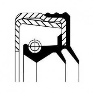 Сальник дифференциала 65х80х14 Iveco 12015743b corteco -