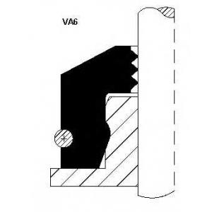 12015876 corteco Уплотнительное кольцо, стержень кла MERCEDES-BENZ 190 седан E (201.018)