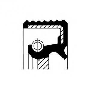 Уплотняющее кольцо, коленчатый вал; Уплотняющее ко 12016300b corteco - HYUNDAI ACCENT I (X-3) Наклонная задняя часть 1.3
