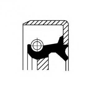 Уплотняющее кольцо, ступенчатая коробка передач 12017271b corteco - OPEL ASCONA C Наклонная задняя часть (84_, 89_) Наклонная задняя часть 1.6