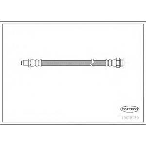 CORTECO 19018139 Тормозной шланг