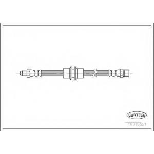 CORTECO 19018521 Тормозной шланг