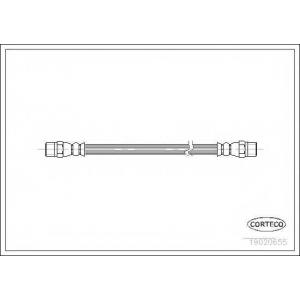 CORTECO 19020655 Тормозной шланг