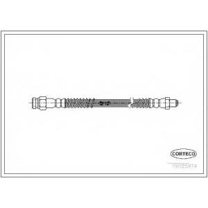 CORTECO 19025914 Тормозной шланг