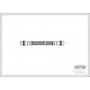 CORTECO 19030132 Тормозной шланг