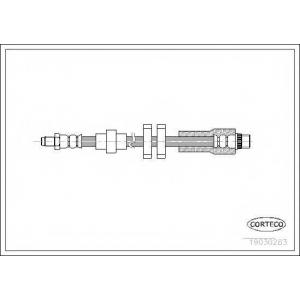 CORTECO 19030283 Тормозной шланг