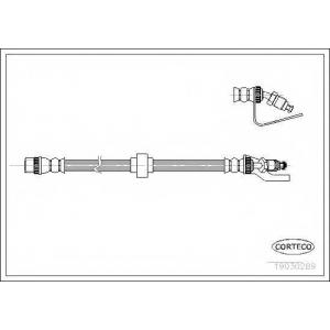 CORTECO 19030289 Тормозной шланг