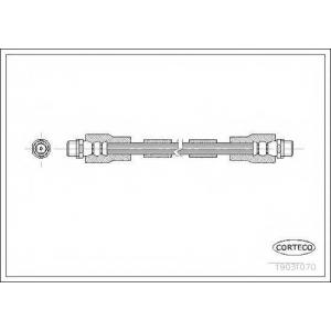 CORTECO 19031070 Тормозной шланг