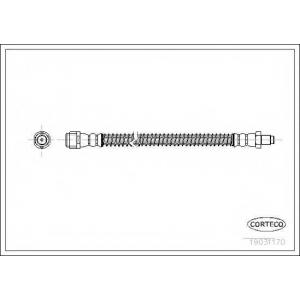 CORTECO 19031170 Тормозной шланг