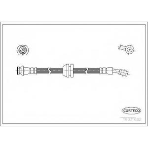 CORTECO 19031682 Тормозной шланг