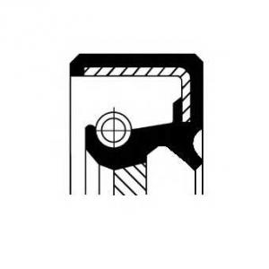 Уплотняющее кольцо, коленчатый вал 19034961b corteco -