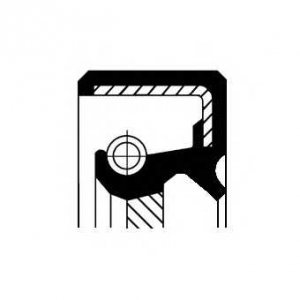 Уплотняющее кольцо, коленчатый вал 19034965b corteco -