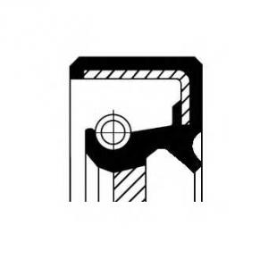 Уплотняющее кольцо, коленчатый вал 19034970b corteco -