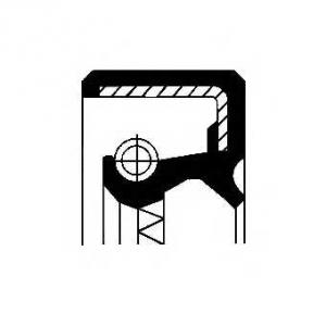 Уплотняющее кольцо, ступенчатая коробка передач; У 20020137b corteco - CITRO?N AX (ZA-_) Наклонная задняя часть 10