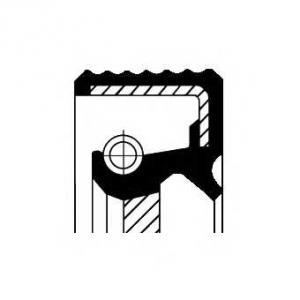 CORTECO 20026412b Сальник FRONT VAG BAPTSLRDX7 CALZATO 35X48X10 TFE (ТЕФЛОН) (пр-во Corteco)