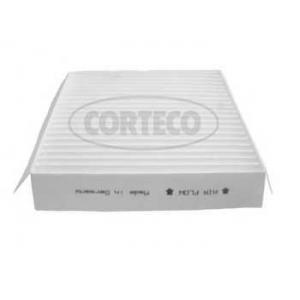 CORTECO 80000338 Фильтр салона угольный Smart 0.6/0.7/0.8cdi