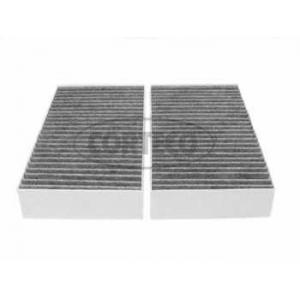 CORTECO 80000647 Фильтр салона MB ML (W164) 3.0CDI (угольный 2шт.)