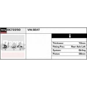 DELCO REMY DC72250