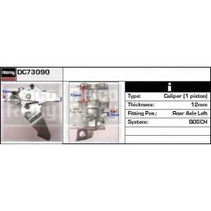 DELCO REMY DC73090 Тормозной суппорт