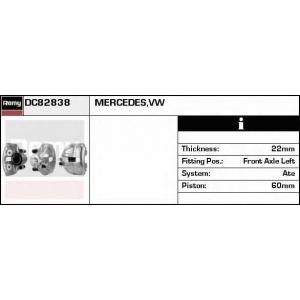 DELCO REMY DC82838 Тормозной суппорт