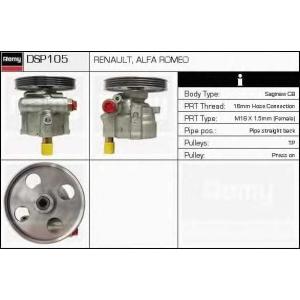 DELCO REMY DSP105 Гидравлический насос, рулевое управление