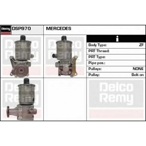 DELCO REMY DSP970 Гидравлический насос, рулевое управление
