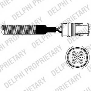DELPHI ES1058012B1 Лямбда-зонд
