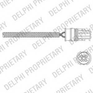 DELPHI ES1105112B1 Лямбда-зонд