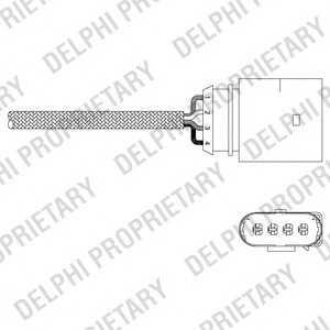 DELPHI ES2033812B1 Лямбда-зонд