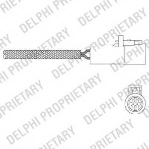 DELPHI ES2034912B1 Лямбда-зонд
