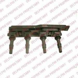 DELPHI GN1019812B1 Катушка зажигания