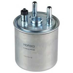 DELPHI HDF663 Фильтр топливный