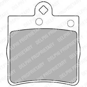 DELPHI LP1403 Тормозные колодки