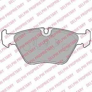 DELPHI LP1608 Тормозные колодки