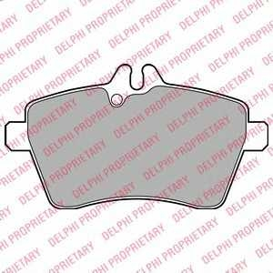DELPHI LP1948 Гальмівні колодки, дискові
