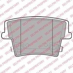 DELPHI LP2035 Тормозные колодки
