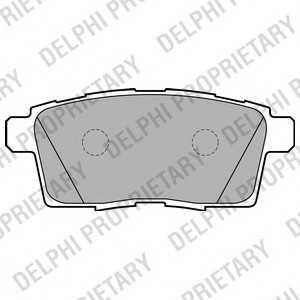 DELPHI LP2052 Тормозные колодки