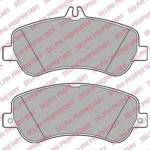 DELPHI LP2146 Тормозные колодки