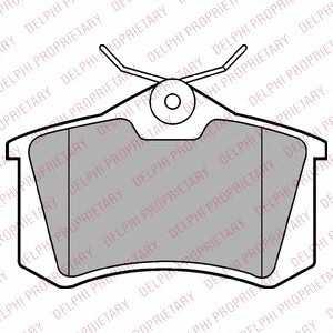 DELPHI LP2254 Тормозные колодки