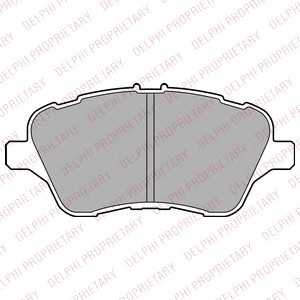 DELPHI LP2474 Комплект тормозных колодок, дисковый тормоз Форд Б-Макс